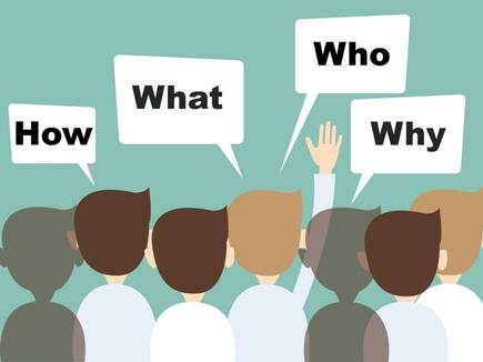 Asking questions in classroom